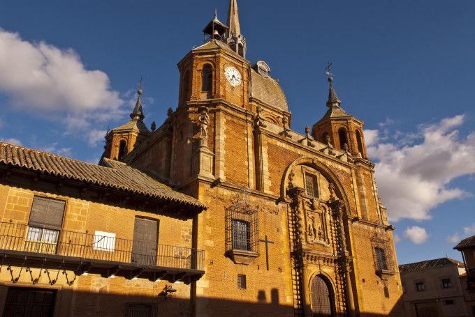 Iglesia del Cristo.San Carlos del Valle.Ciudad Real.Ruta de Don Quijote