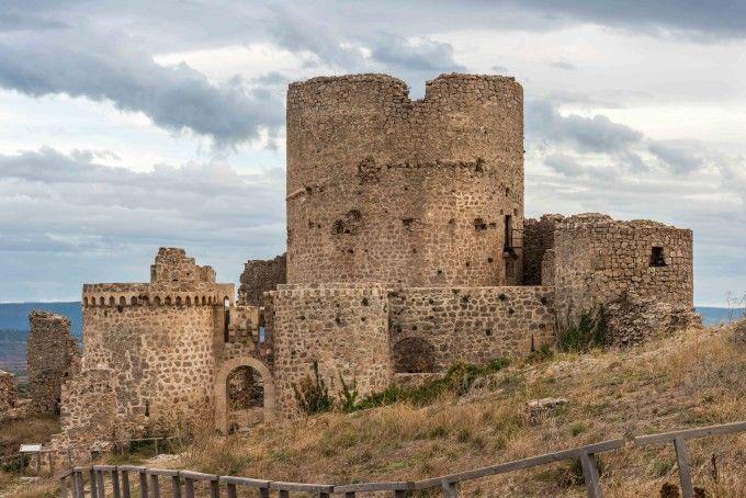 Castillo de Moya. Cuenca. España