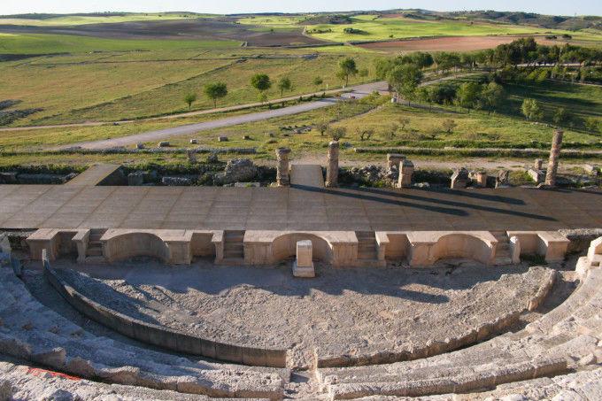Ciudad romana de Segóbriga, Saelices, Cuenca, España
