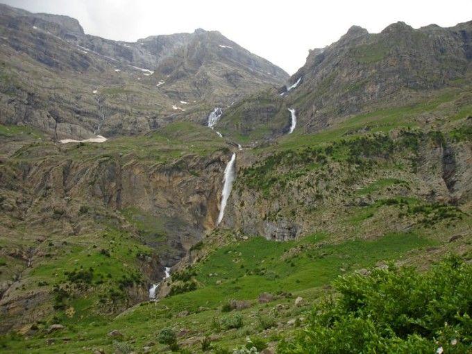El Balcón de Pineta desde el valle