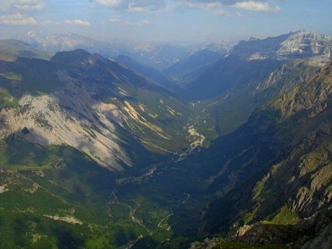 Vistas del Valle de Pineta desde el Balcón