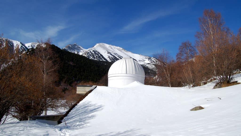 Observatorio astronómico del MónNatura Pirineus.