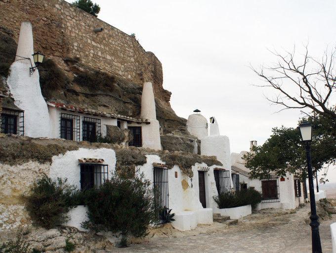 Casa cueva de Chinchilla de Montearagón