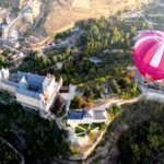 Paseo en globo sobre Segovia
