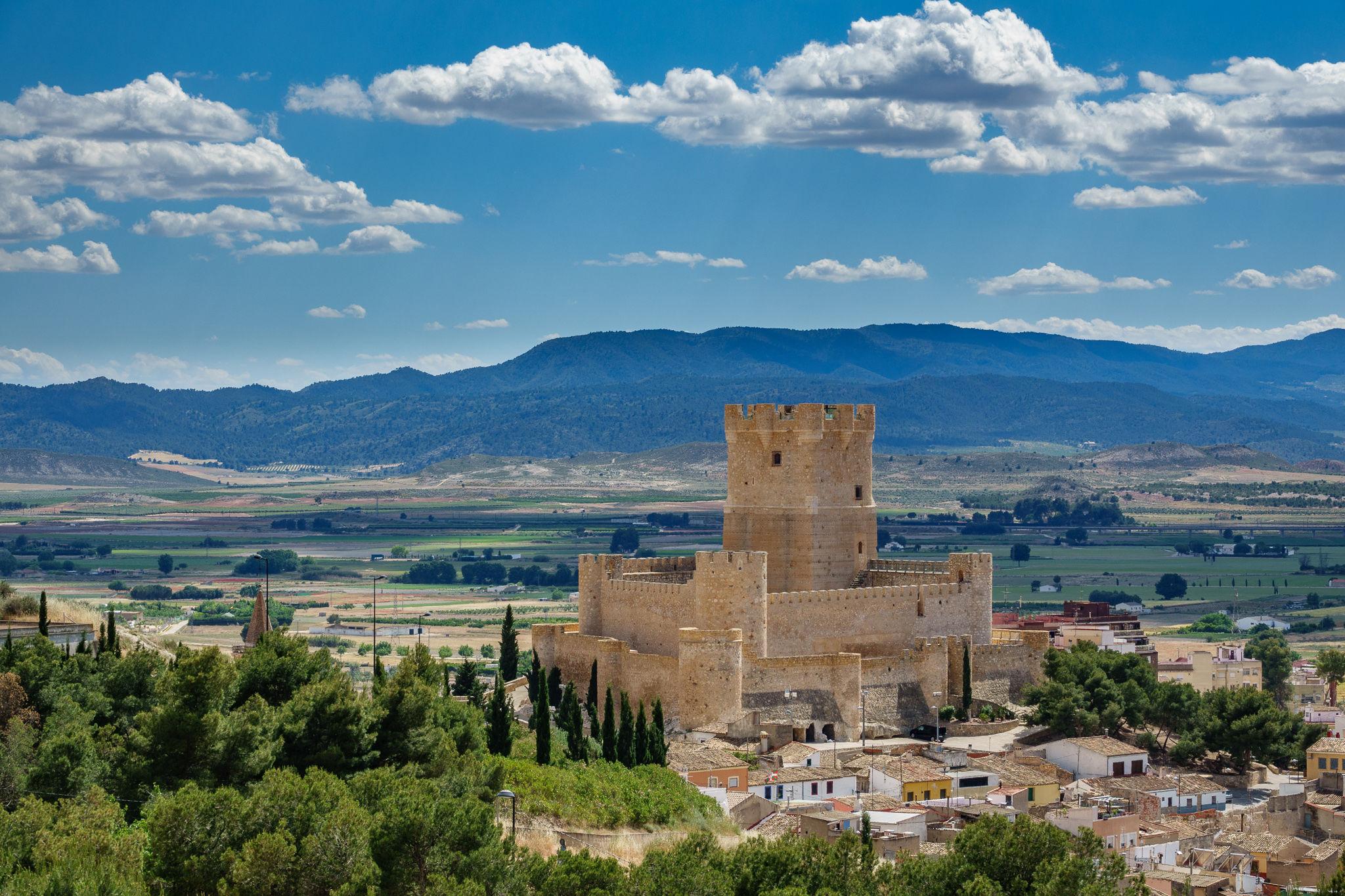 Resultado de imagen de castillo de Villena