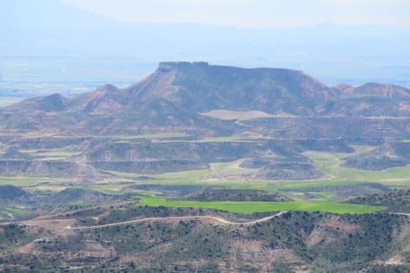 Caídas de la Negra, vida en el desierto de Navarra