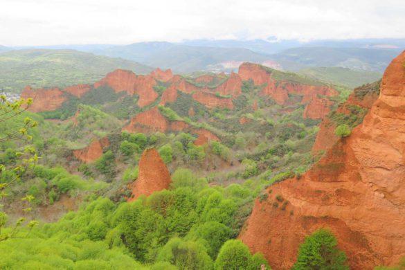 Las Médulas, la huella del oro en las montañas de León