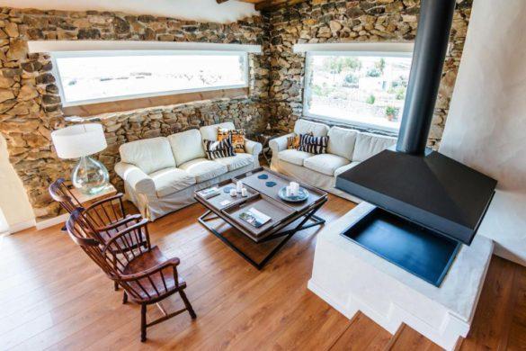 14 casas rurales en Portugal con chimenea