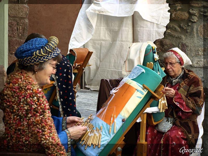 Mercado medieval en Cataluña