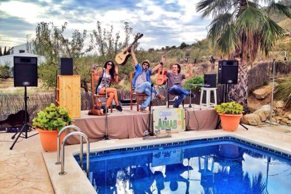 Casas rurales para bailar en una escapada con amigos
