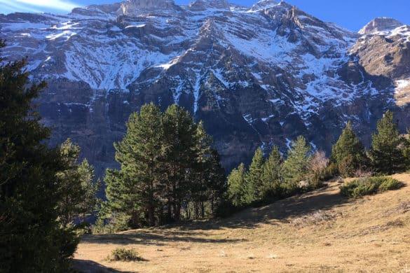 Senderismo por el valle de Pineta
