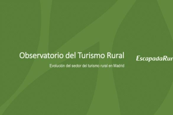 Evolución del turismo rural en Madrid