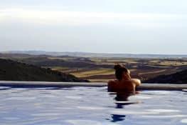 5 casas rurales con piscinas «infinity»
