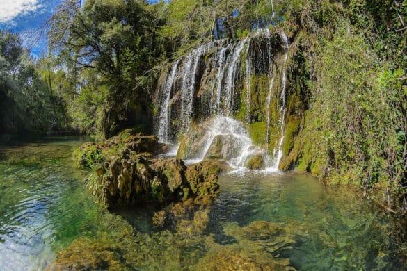 Gorg del Molí dels Murris, la cascada de La Garrotxa