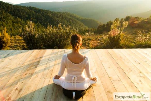 11 casas rurales donde practicar yoga