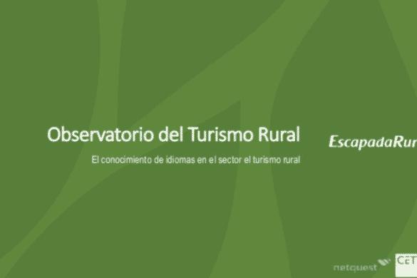 El conocimiento de idiomas en el sector del turismo rural