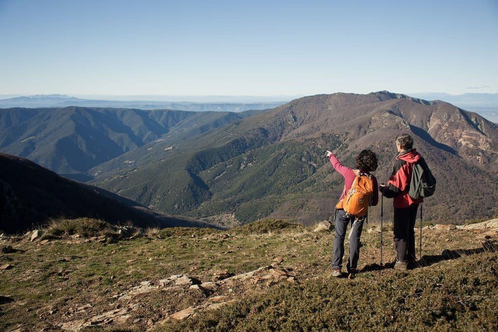 Ascensió de les Agudes. Parc Natural del Montseny