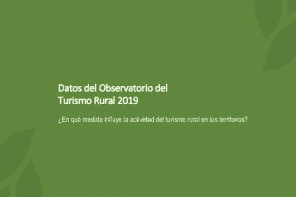 El turismo rural frente a la despoblación de los municipios
