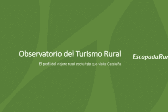El perfil del viajero rural ecoturista que visita Cataluña