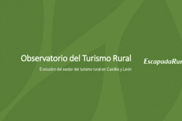 Evolución del sector del turismo rural el Castilla y León