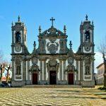 Bom Jesus de Matosinhos iglesia en norte de Portugal