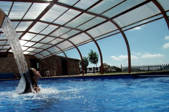 17 casas rurales con piscina climatizada: ¡refrescaliéntate!