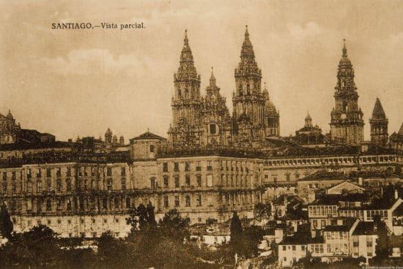 10 fotos de Santiago de Compostela en el siglo XX