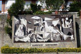 Mapa de las pinturas que retratan la historia de España