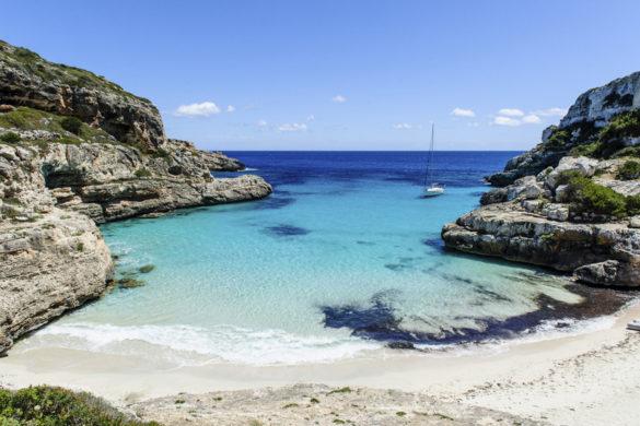 Todas las playas aisladas de España (y su grado de afluencia de visitantes)
