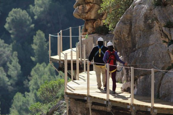 Vuelve el Caminito del Rey, «el sendero más peligroso del mundo»