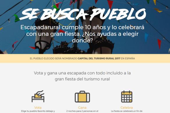 Diez pueblos optan a convertirse en la Capital del Turismo Rural 2017
