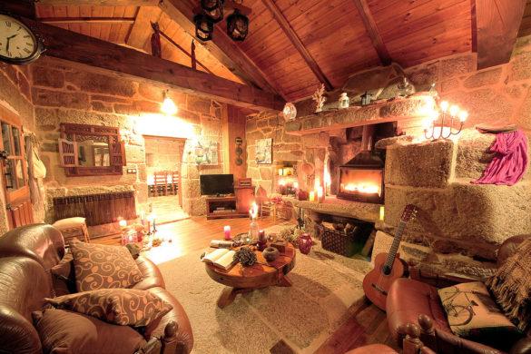 Turismo rural al calorcito: 22 casas rurales con chimenea