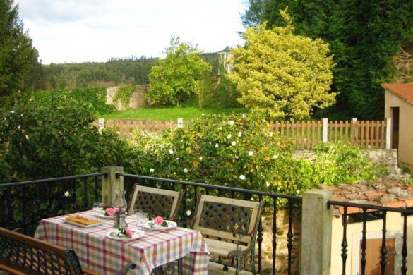 Cinco casas rurales para recibir la primavera