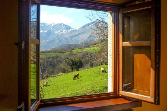 Ventanas al paraíso: 22 casas rurales con vistas sorprendentes