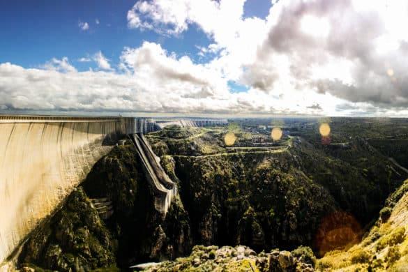 La Almendra: la presa con mayor altura de España