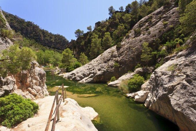 La Fontcalda en Gandesa, un paraíso al aire libre