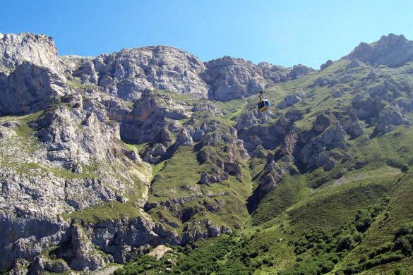El teleférico de Fuente Dé, camino al cielo de Cantabria