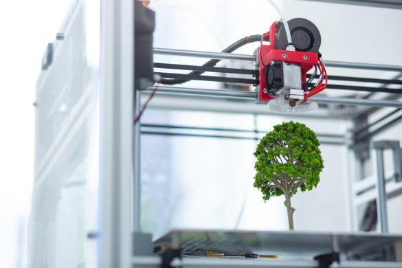 España imprimirá árboles reales en 3D para luchar contra el cambio climático
