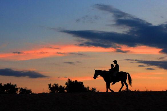 Cómo recorrer Cataluña por la noche y a caballo