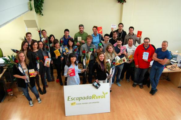 ¡Sant Jordi en EscapadaRural!