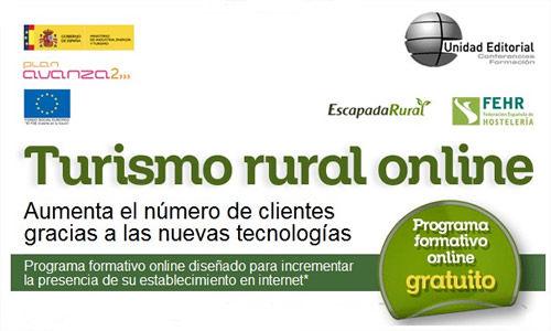 Curso gratuito para propietarios de alojamientos rurales