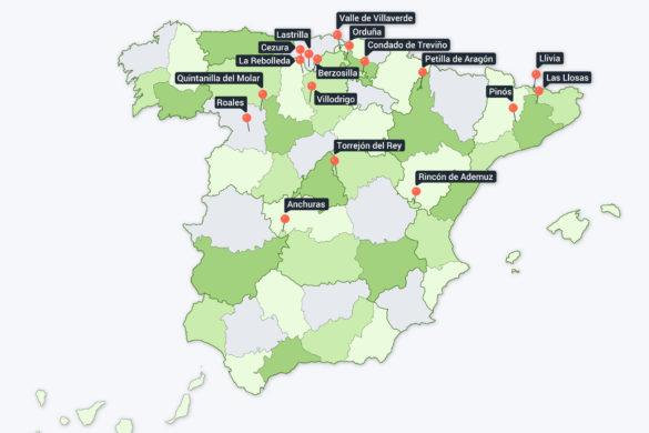 Enclaves de España: territorios que no están donde toca