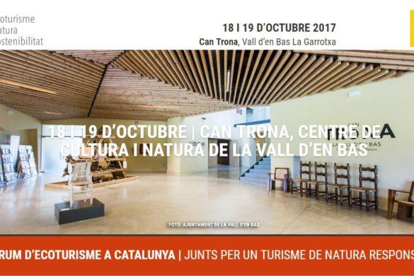 Cataluña, comprometida con el ecoturismo y la sostenibilidad