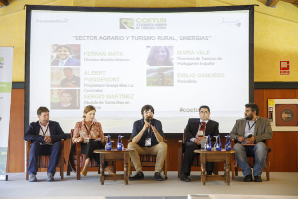 Sector agrario y turismo rural, sinergias #COETUR