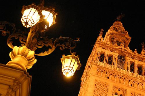 Giralda de Sevilla Ruta Washington Irving
