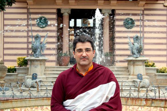 Buda por un día, el Monasterio del Garraf
