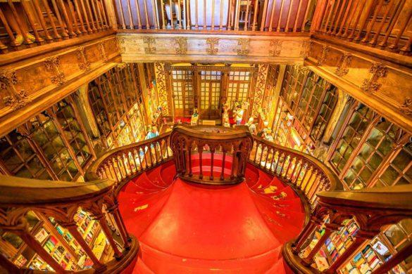 Los lugares de Oporto que inspiraron Harry Potter