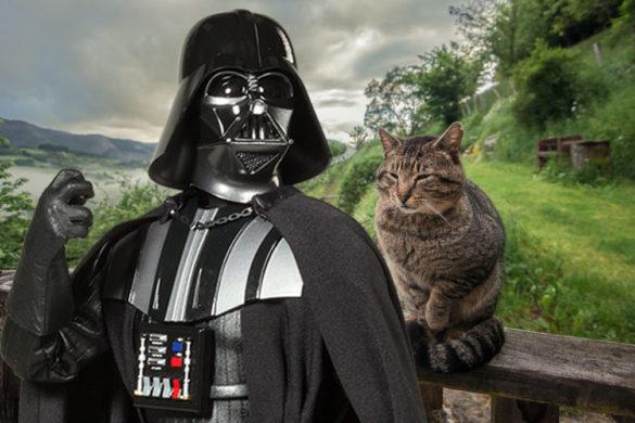 El Lado Verde de la Navidad: Darth Vader se va de vacaciones