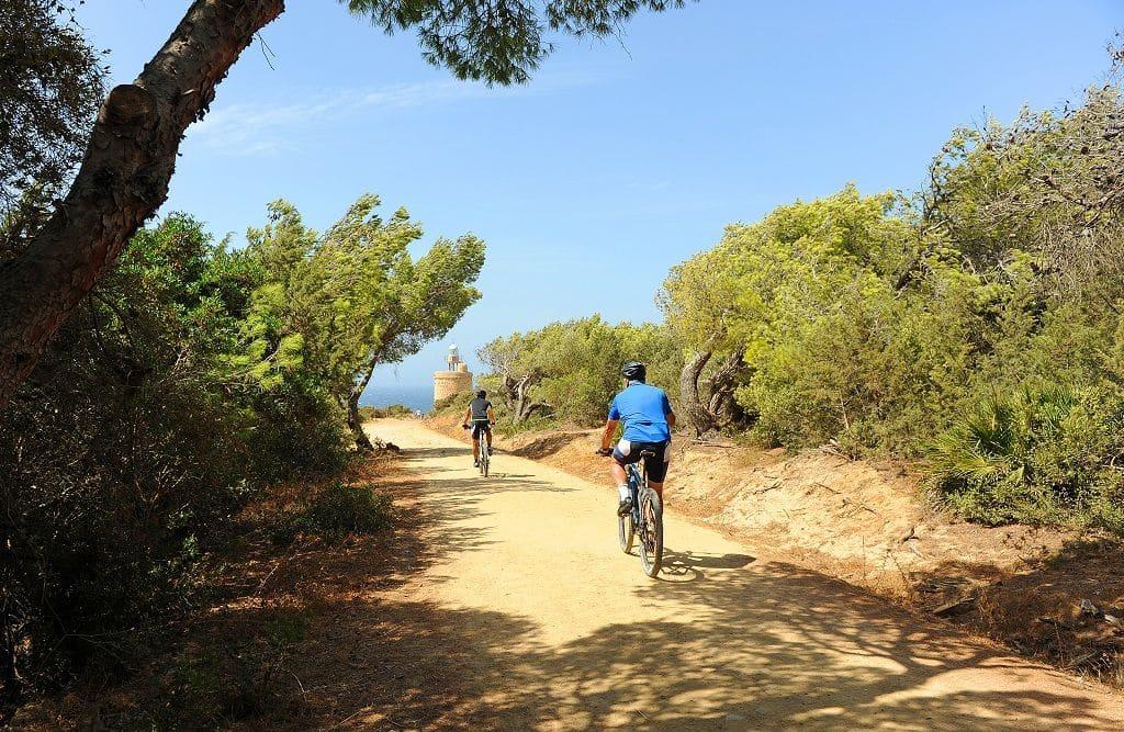 En bici por Zahara de los Atunes, TransAndalus.
