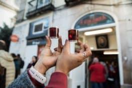 La ginja, el chupito preferido de Portugal